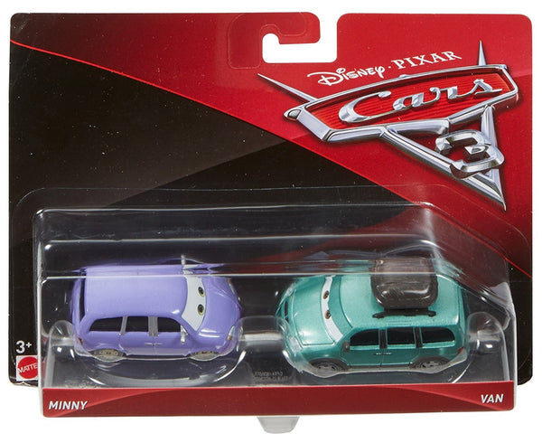 Disney/Pixar Cars Mini & Van Vehicles, 2 Pack