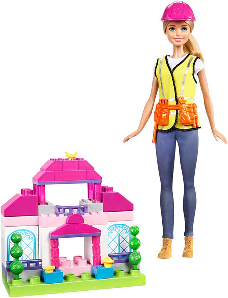 Barbie Builder Doll & Playset, Blonde