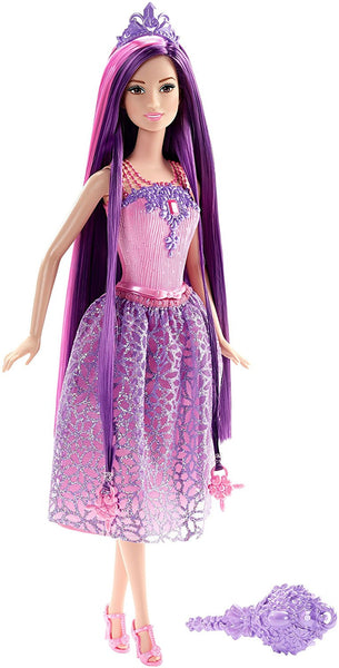 Barbie Endless Hair Kingdom Princess Doll, Purple