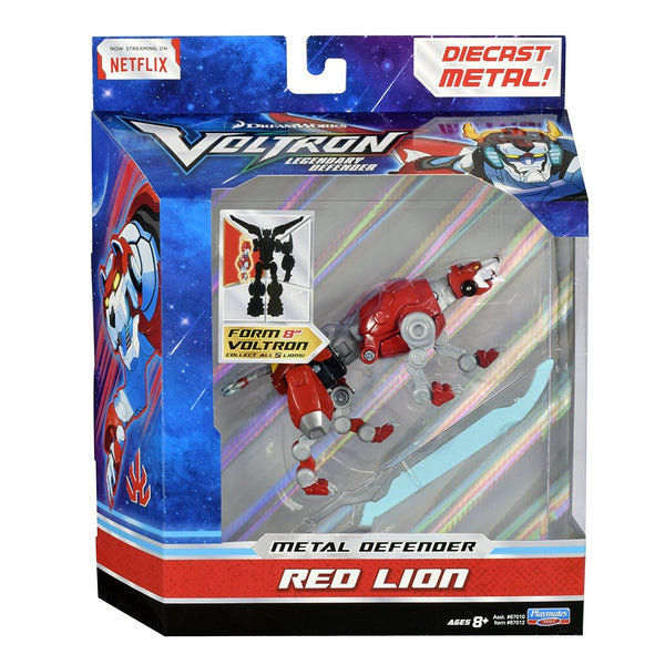 Voltron Red Lion Die Cast Figure Action