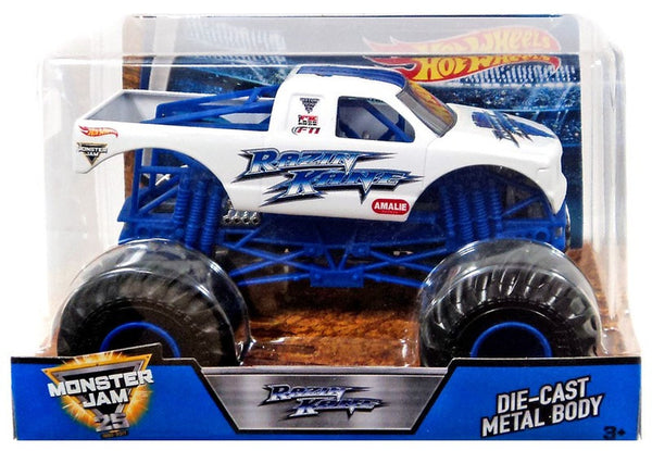 Hot Wheels Monster Jam Razin Kane Vehicle, 1:24 Scale