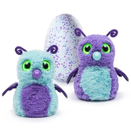Hatchimals - Hatching Egg - Interactive Creature - Burtle - Purple/Teal Egg - Walmart Exclusive by Spin Master