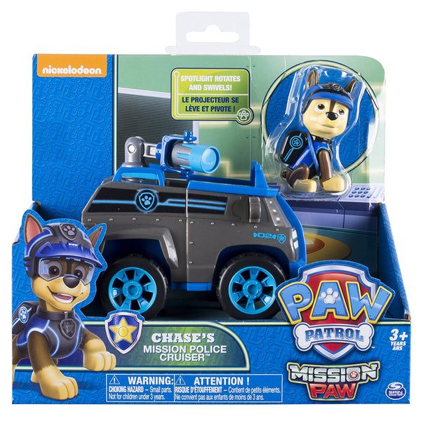 Paw Patrol - Mission Paw - Chase's Mission Police Cruiser