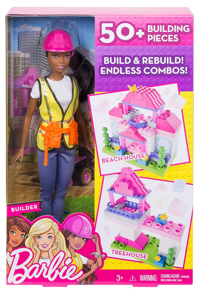 Barbie Builder Doll & Playset, African American