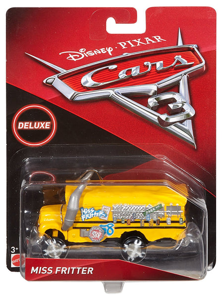 Disney Pixar Cars 3 Deluxe Miss Fritter Vehicle