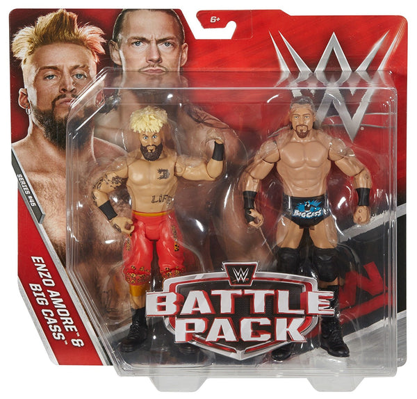 WWE Enzo Amore & Big Cass Action Figure (2 Pack)
