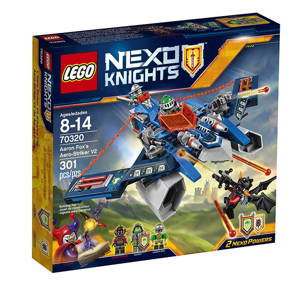 LEGO Nexo Knights 70320 Aaron Fox's Aero-Striker V2 Building Kit (301 Piece)