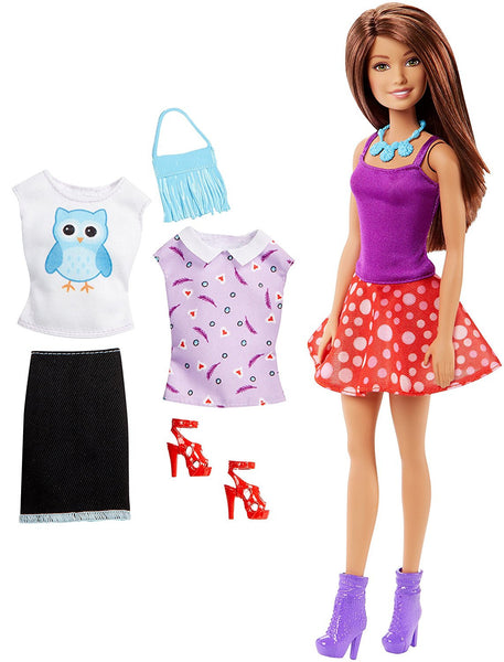 Barbie Teresa Doll and Fashions - Skirt Set