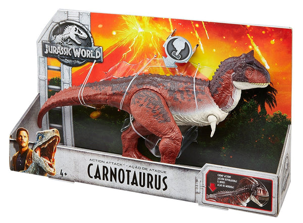 Jurassic World Action Attack Carnotaurus Figure