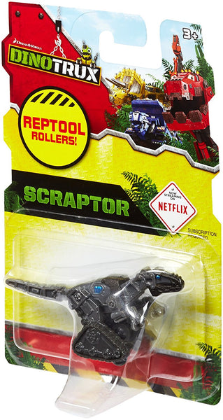 Dinotrux Reptool Black Scraptor Vehicle