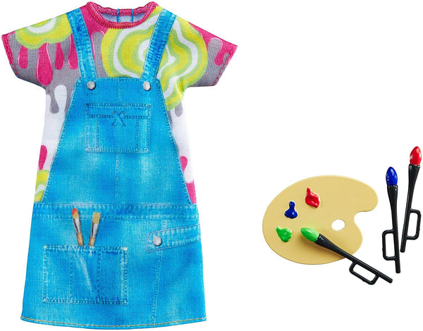 Barbie Fashion Dress - Painter