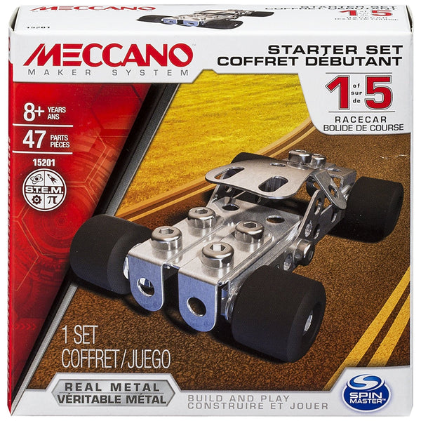 Spin Master Meccano Starter Set ‑ Race Car Model Kit
