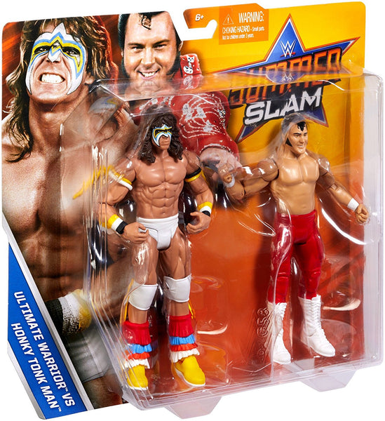 WWE SummerSlam Ultimate Warrior & Honky Tonk Man Action Figure (2 Pack)