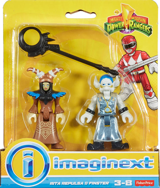 Fisher-Price Imaginext Power Rangers Rita Repulsa & Finster