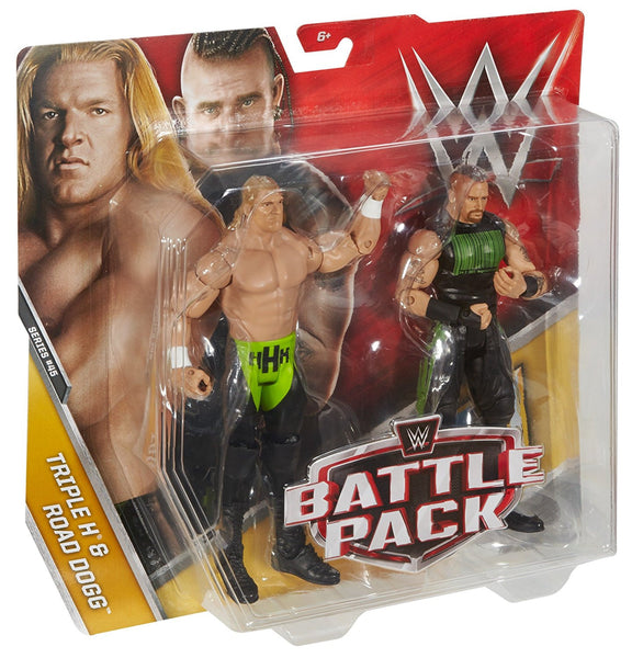 WWE Triple H & Road Dogg Action Series 45 Figure, 2 Pack