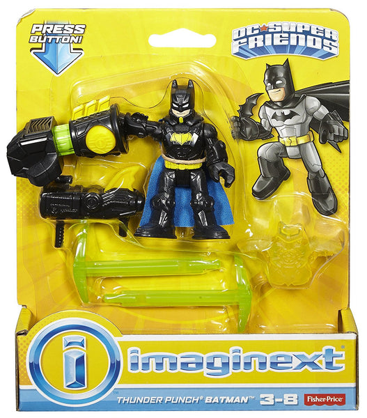 Fisher-Price Imaginext DC Super Friends, Thunder Punch Batman Toy