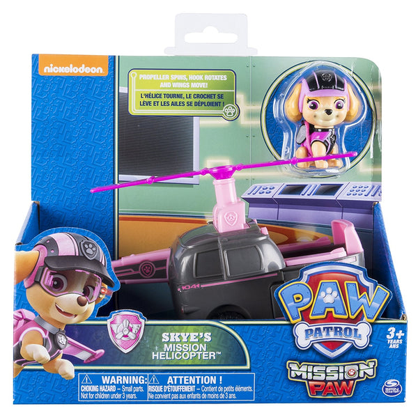 Paw Patrol - Mission Paw - Skye's Mission Helicopter