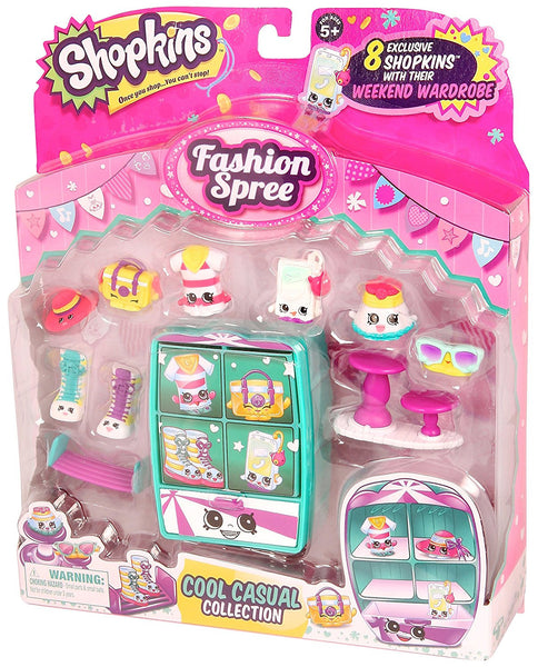 Shopkins Season 3 Fashion Spree Pack - Cool N' Casual