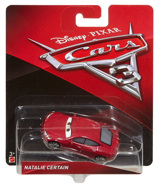 Disney Cars Pixar Die-Cast Natalie Certain Vehicle