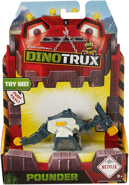 Dinotrux Die-Cast Poundersaurus Vehicle