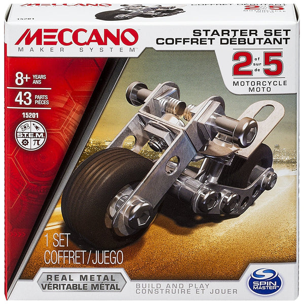 Meccano Starter Set - Motorcycle