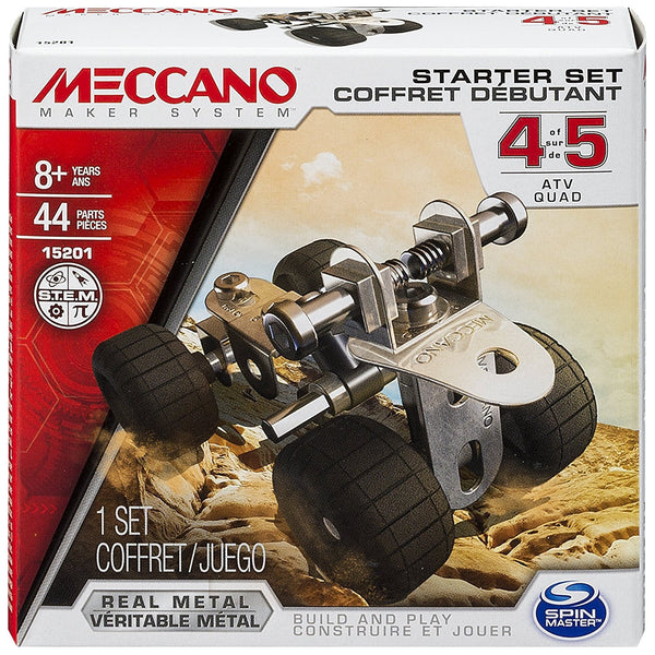 Meccano Starter Set - ATV Quad