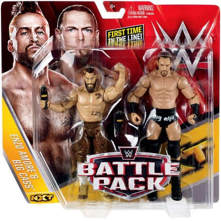WWE Figure 2-Pack, Enzo & Big Cass