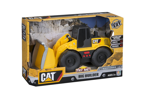 Toy State CAT Big Builder Wheel Loader Lands Shaking (Styles May Vary)