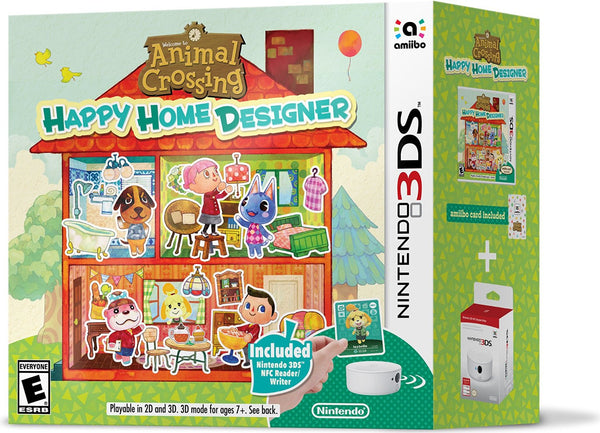 Animal Crossing Happy Home Designer Bundle Nintendo 3ds Weird Warehouse Buy Toys For Less