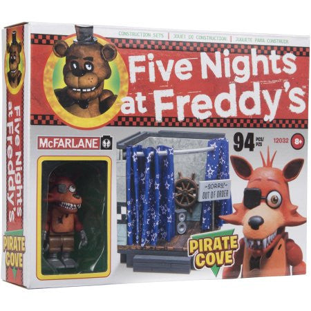 McFarlane Five Nights at Freddy's Pirate Cove Construction Set