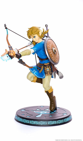 "First 4 Figures - Nintendo Legend of Zelda: Breath of the Wild Link 11"" Premium Collectible Figure"