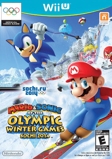 Mario & Sonic at the Olympic Winter Games Sochi 2014 - Wii U
