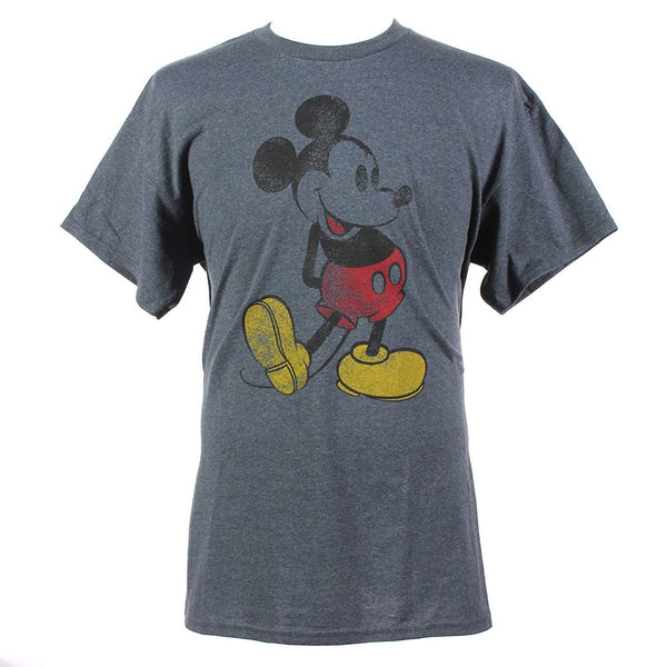 Disney Mickey Mouse Classic Distressed Graphic T-Shirt