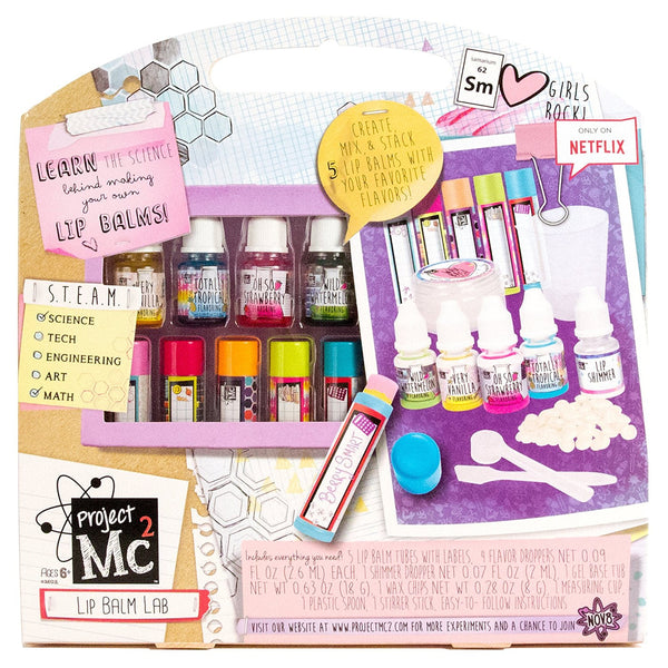 Project Mc2 Create Your Own Lip Balm Lab Kit