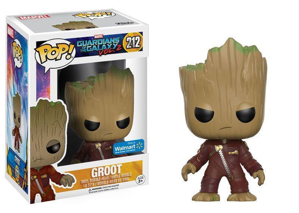 Funko Pop! Marvel Guardians of the Galaxy- Vol. 2 Baby Groot Angry Ravager #212