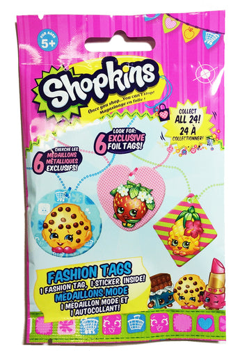 Tech4Kids Shopkins Fashion Tags