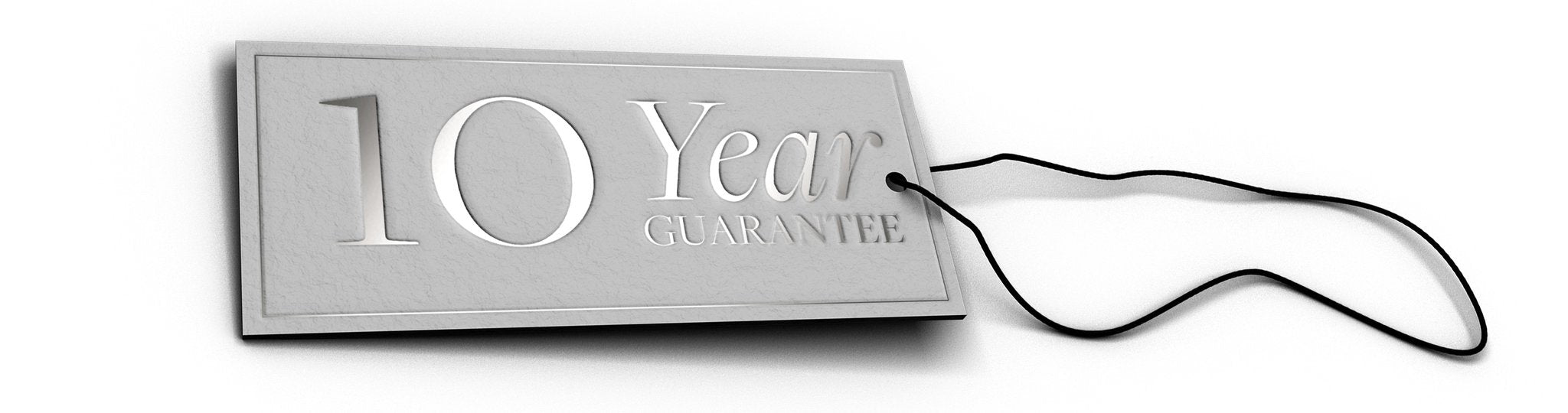 10 Year Guarantee Tag