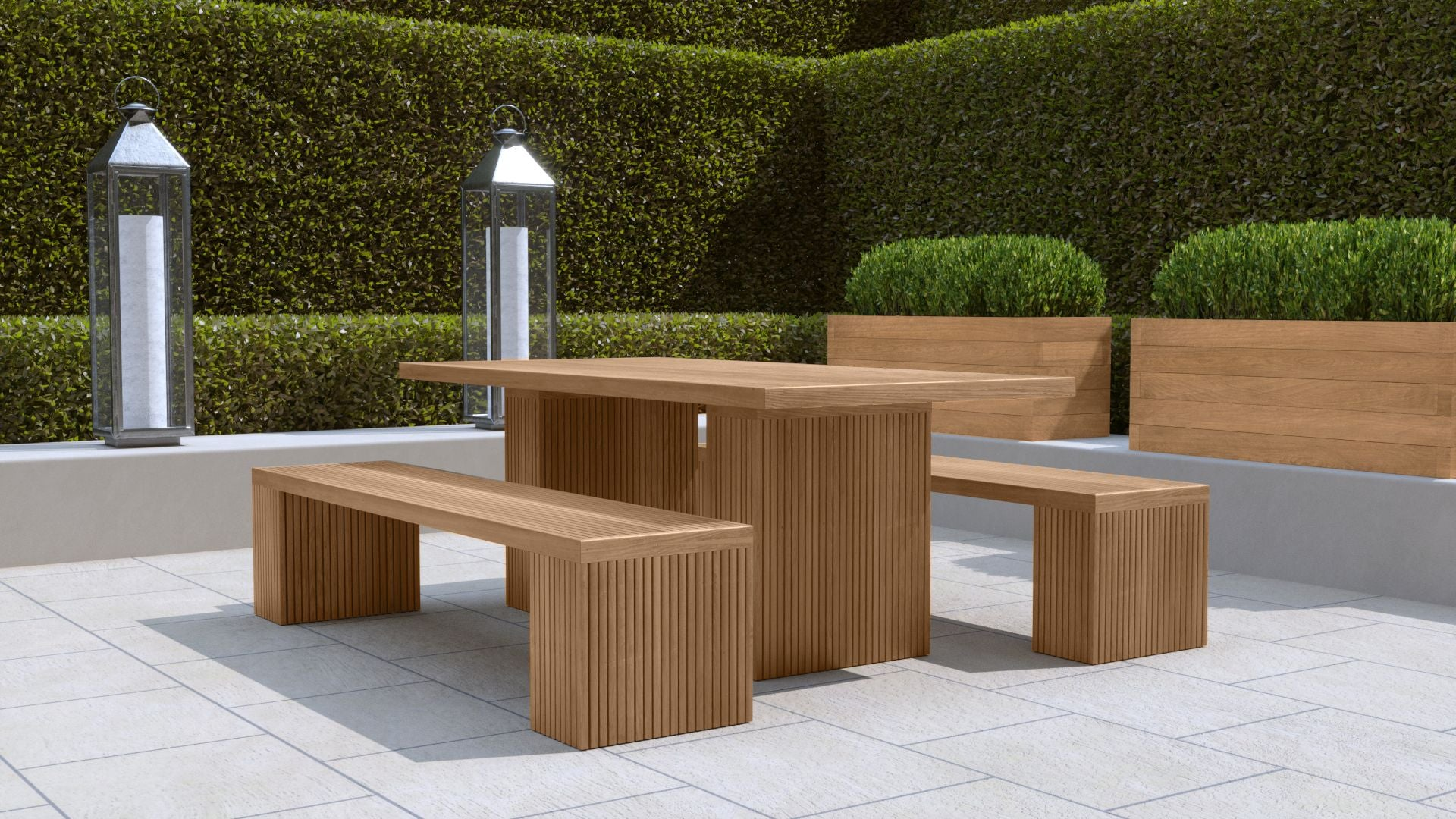 https://chic-teak.co.uk/products/mayfair-teak-table-benches