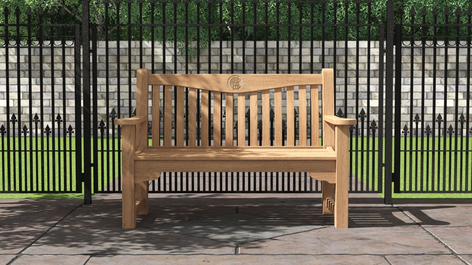 MCC Teak Bench 3 Seater  - Chic Teak® | Luxury Teak Furniture