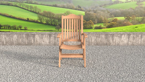 Lymington Teak reclining chairs