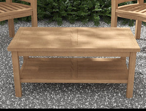 Teak Coffee Table 50x100cm  - Chic Teak® | Luxury Teak Furniture
