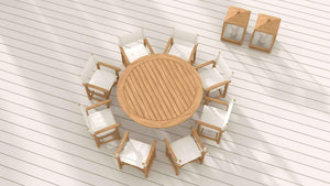 Teak Henley Table  - Chic Teak® | Luxury Teak Furniture