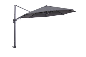 Cantilever light parasol open