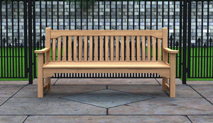 The York Teak Commemorative Bench