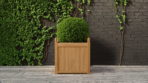 Teak planter square 5 sizes