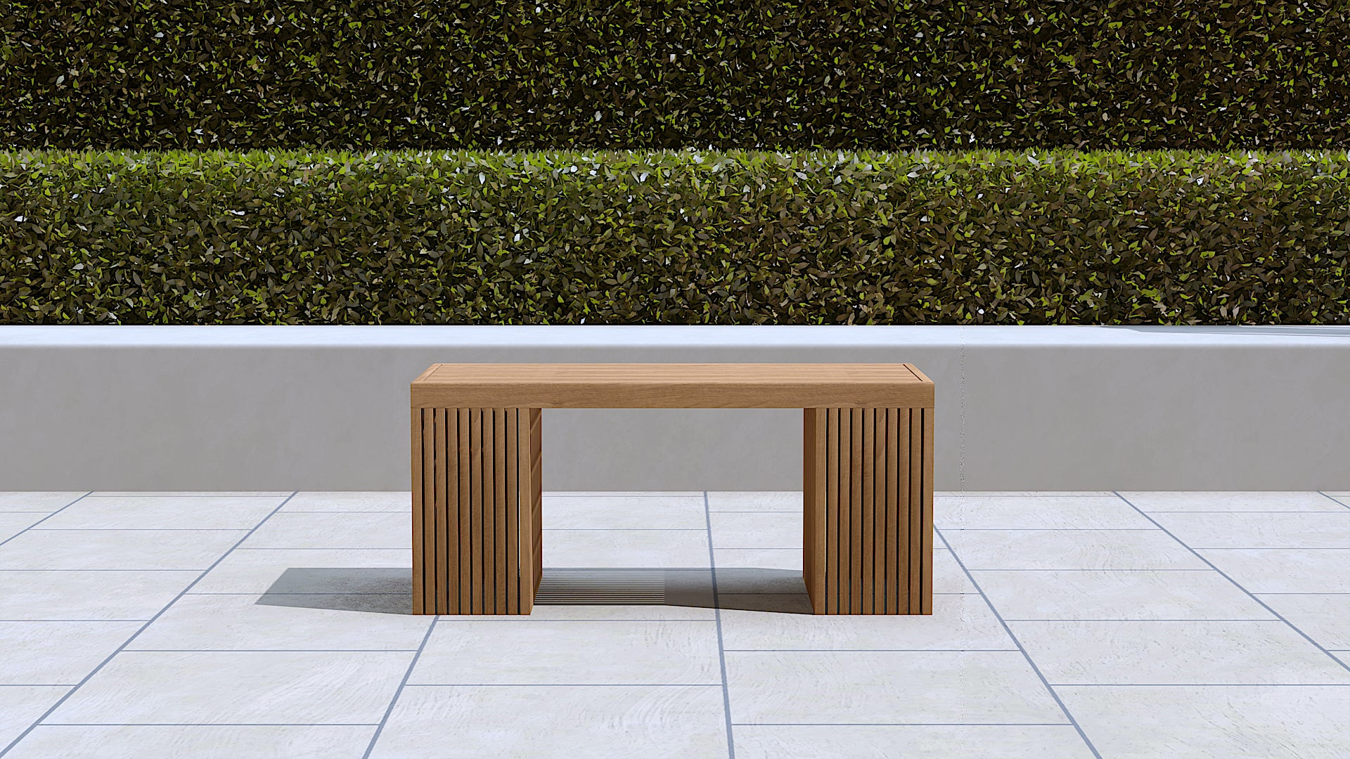 Mayfair teak table small