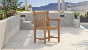 Guildford Teak Garden Carver Chair