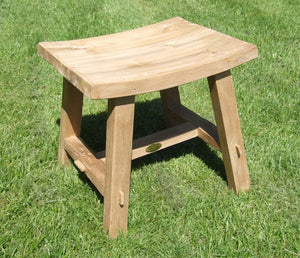 Rectangular Teak Stool