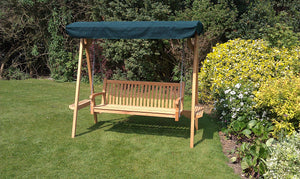 Teak Garden Swing Seat with canopy