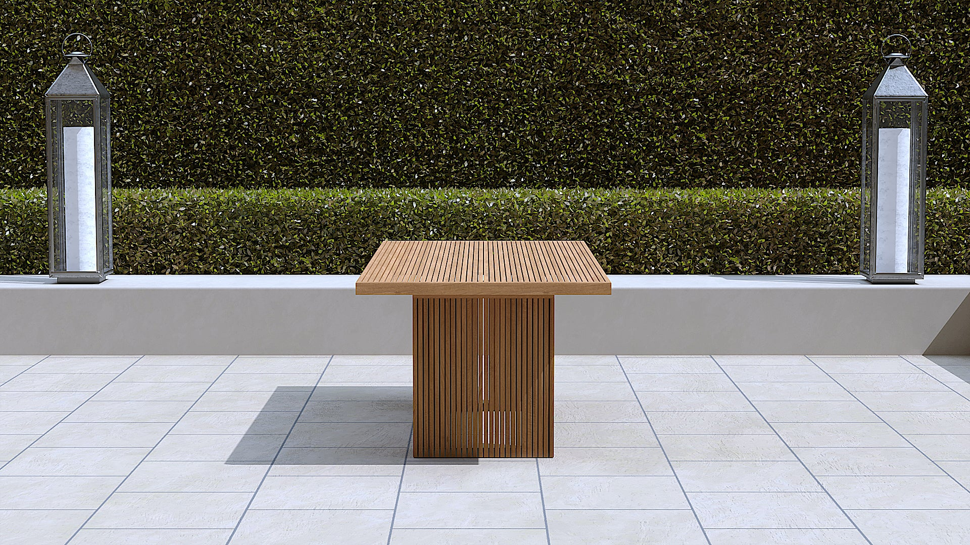 Mayfair teak table